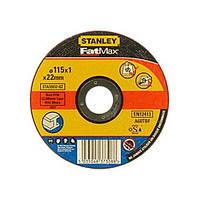 Круг отрезной по металлу 115мм STANLEY STA32632