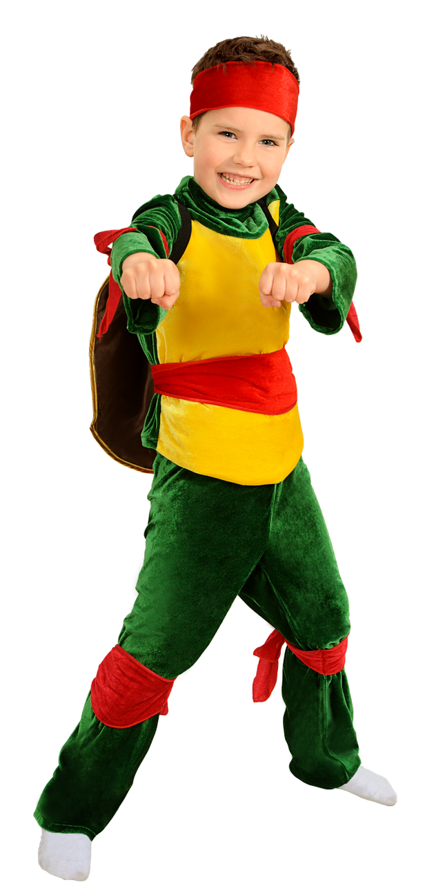 Дитячий карнавальний костюм Черепашка Ніндзя