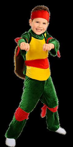 Дитячий карнавальний костюм Черепашка Ніндзя, фото 2