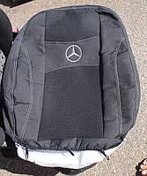 Автомобильные чехлы на сидения PREMIUM MERCEDES VITO II W639 VIANO 1+2 2003г… 3 подгол;2 пер подл