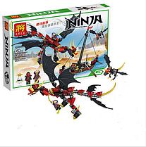"Конструктор Lele NINJA 329 деталей31014 ""Нападение Дракона"" лодка, дракон (ninjago, ниндзяго, ниндзя)"