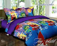 Комплект постельного белья для детей Головоломка (ДП евро-047)