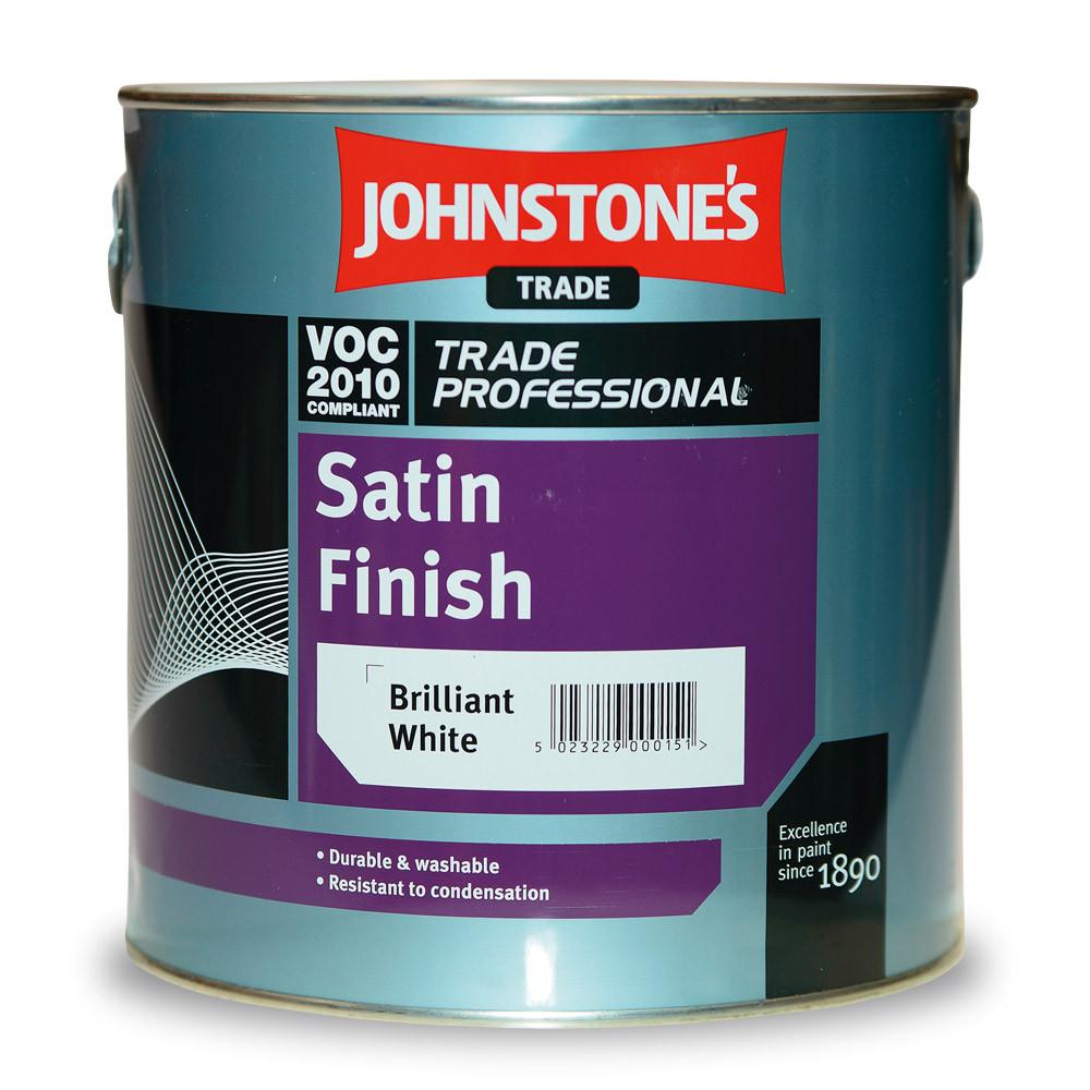 Алкідна емаль Johnstones Satin Finish напівматова 2.5л