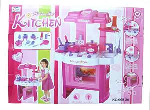 Кухня детская Kitchen set 008-26 электронная со световыми и звуковыми эффектами