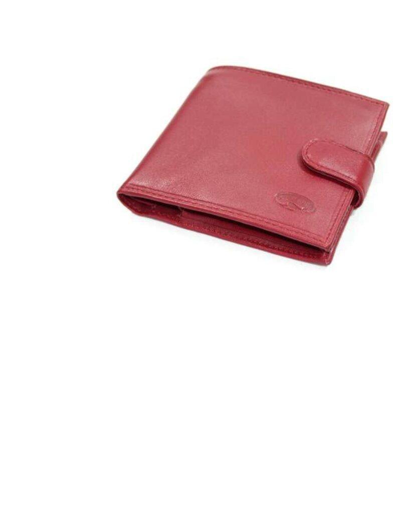 Кошелек женский кожаный катана красный 553036