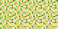 """Листовая панель ПВХ Регул мозаика """"Ромашка"""" 0,4мм 957*480мм"""