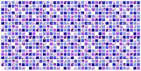 """Листовая панель ПВХ Регул мозаика """"Сирень"""" 0,4мм 957*480мм"""