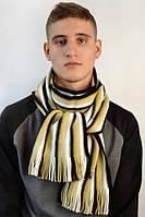 Строгий классический зимний шарф