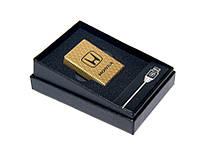 Электроимпульсная зажигалка юсб USB HONDA