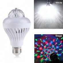 Вращающаяся диско лампа для вечеринок Ball 2015-2 USB Player Bluetooth Full color lamp светомузыка