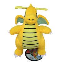 Мягкие плюшевые игрушки Покемон Dragonite 23 см., фото 1
