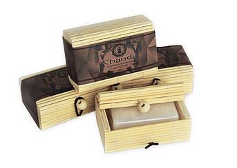 Натуральный солевой дезодорант Chandi в бамбуковой коробке, 80г, фото 2
