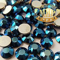 Стразы ДМС Metallic Blue ss3(1,4мм).Цена за 100шт.
