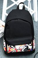 Рюкзак школьный с интересным узором