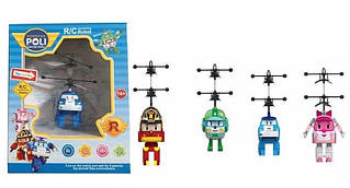 Летающие игрушки Робокары TL8018A Рой Эмбер Поли Хелли