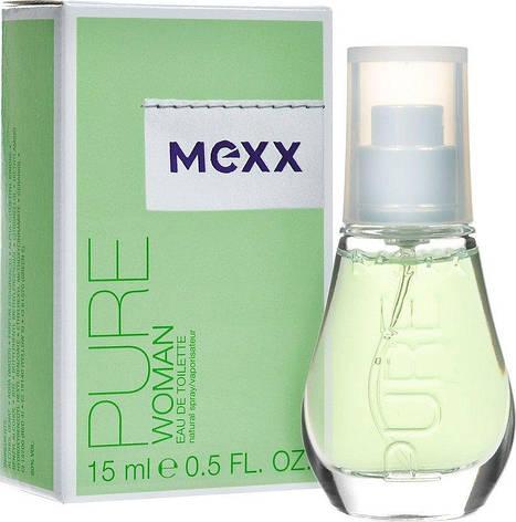 Туалетная вода  Mexx Pure Woman 15 мл, фото 2