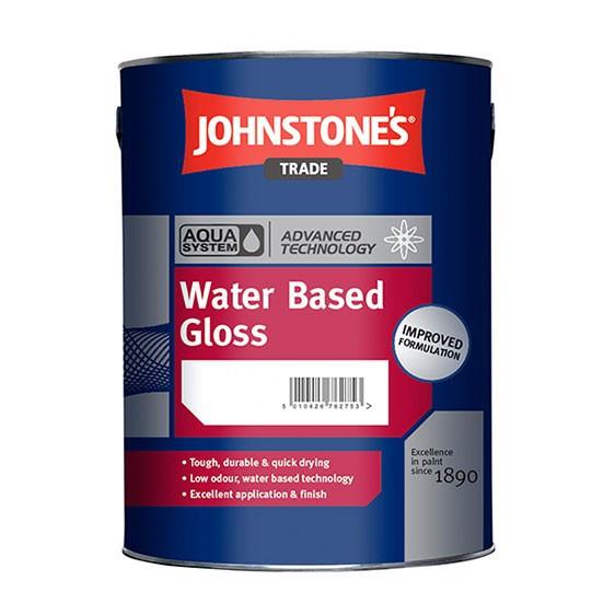 Акриловая Эмаль Johnstone`s Water Based Gloss 2.5л