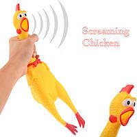 Shrilling chicken кричащая курица 40 см