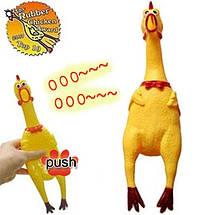 Shrilling chicken кричащая курица 40 см, фото 2