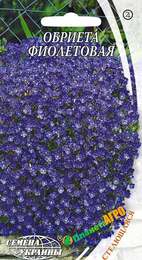 Семена цветов Обриеты культурной фиолетовой  (Семена)