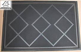 Резиновый коврик в прихожую 90*60 см К013