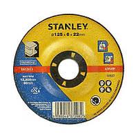 Круг шлифовальный по металлу 125мм STANLEY STA32055