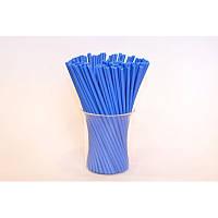 Палочки пластиковые синие для Кейк-попсов, леденцов, цена за 1 шт
