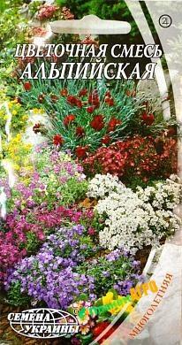Семена цветов Цветочная смесь Альпийская (Семена)