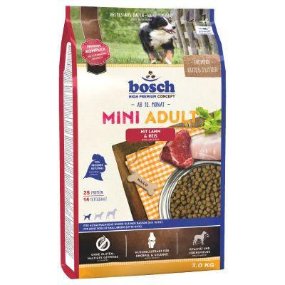 Bosch Adult Mini Lamb & Rice15кг для собак мелких пород с ягненком