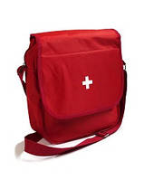 Аптечка производственная (мобильная) (10-15человек) сумка из ткани через плечо)