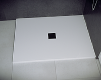 Душевой прямоугольный поддон NOX 100х90х3.5 белый ultraslim BESCO PMD PIRAMIDA