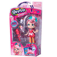 Кукла SHOPKINS SHOPPIES -серии «Фантазия» - КЛУБНИЧКА