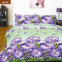 """Постельное белье """"Поляна цветов"""" № 12130 полуторное ярких цветов"""