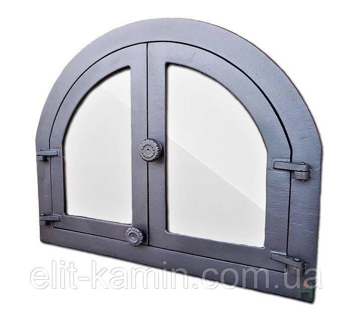 Дверцы чугунные Halmat Н1617 (595x480)