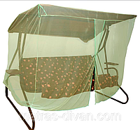 Москитная сетка для садовых качелей  Deli, King, Virginia, Santa-Fe, Bali