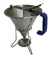 Лейка-дозатор для соусов и кремов , 1,5 л, Ø 190x(H)220 мм Hendi
