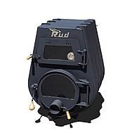 Отопительная конвекционная печь с варочной поверхностью и духовым шкафом Rud Pyrotron Кантри (10 кВт, 80 кв.м