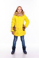 Куртка зимняя Виктория (7 цв), детская куртка, пуховик детский, куртка для девочки