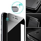 4D захисне скло для iPhone 6 / 6S - Black, фото 3