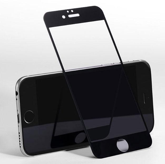 4D захисне скло для iPhone 6 / 6S - Black