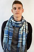 Осене-зимний шарфик с бахрамой