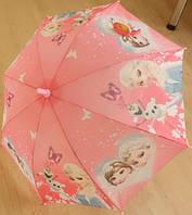 """Детский зонт трость Star Rain """"Холодное сердце 6"""" полуавтомат, 8 спиц"""