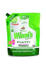 Гіпоалергенна засіб для миття посуду Madel Winni's Piatti Lime Eco-Ricarica 1000 ml