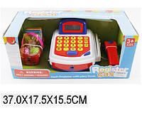 Кассовый аппарат 8088A-1  батар,сканер,микроф,калькулятор,корзина с продуктами