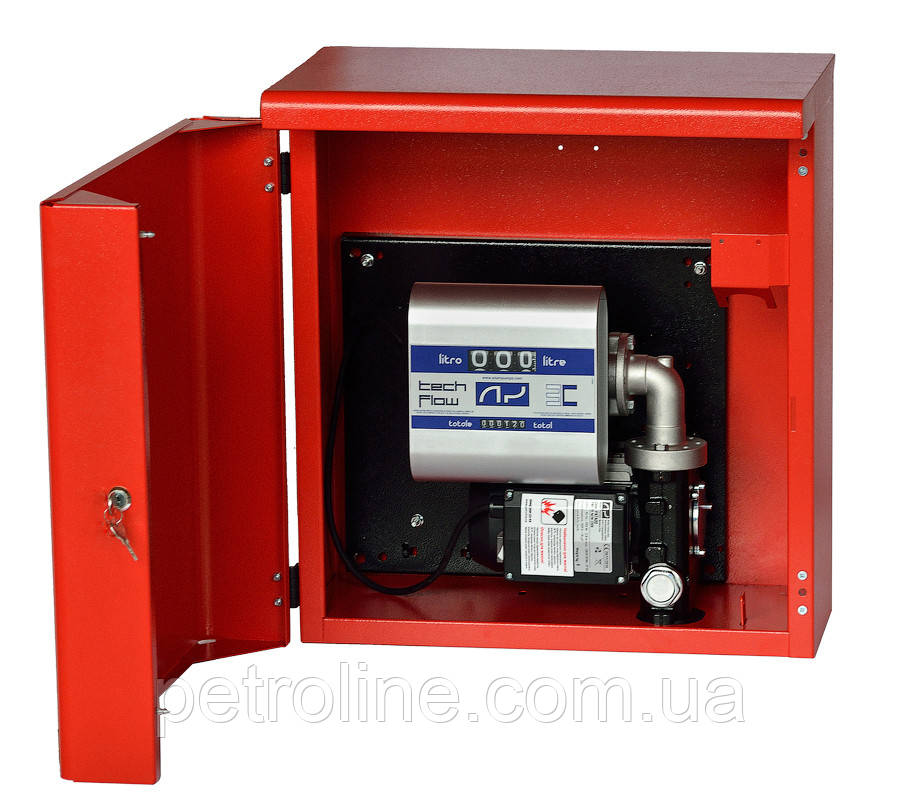 Топливораздаточная колонка для ДТ в металлическом ящике ARMADILLO 70, 220В, 70 л/мин