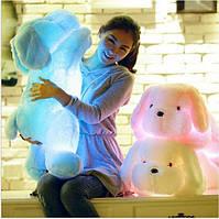 Светящаяся мягкая игрушка собака