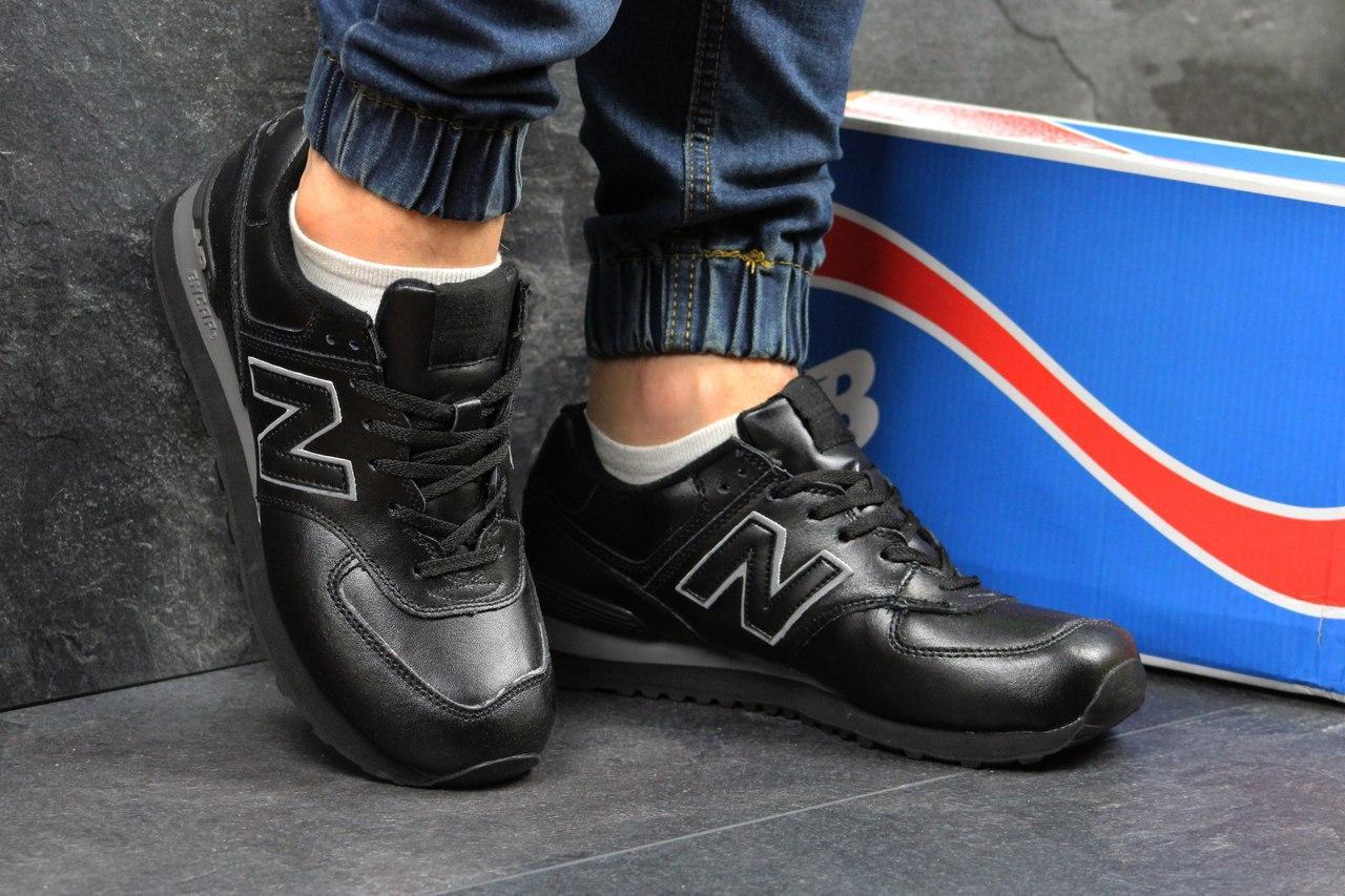 Мужские кроссовки New Balance (черные), ТОП-реплика