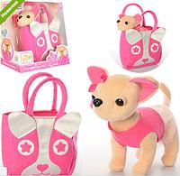 Собачка в сумочке Модница Паппи Кикки M 3641 аналог Chi Chi Love