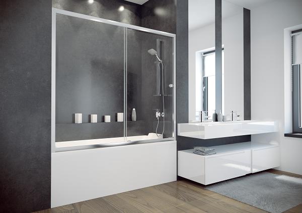 Шторки для ванн Besco PMD DUO SLIDE 150x150