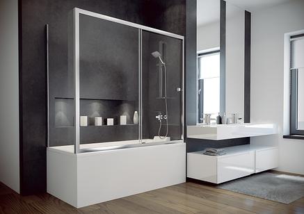 Шторки для ванн Besco PMD DUO SLIDE 150x150, фото 2